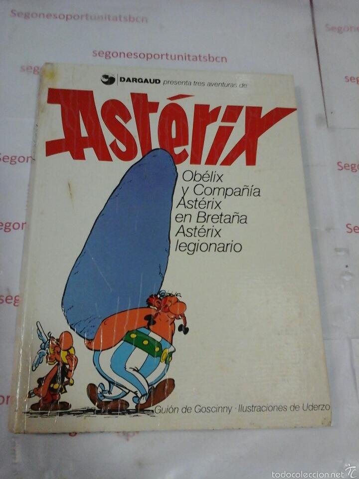 ASTÉRIX - TOMO N°3 - DARGAUD - 1976 (Tebeos y Comics - Grijalbo - Asterix)