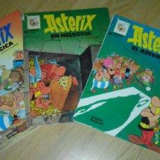 Cómics: ASTERIX EN BELGICA-ASTERIX EL ADIVINO-ASTERIX EN HELVECIA. Lote 55808292
