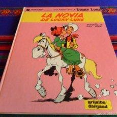 Cómics: LUCKY LUKE Nº 32 LA NOVIA DE LUCKY LUKE. GRIJALBO 1987. . Lote 55821683