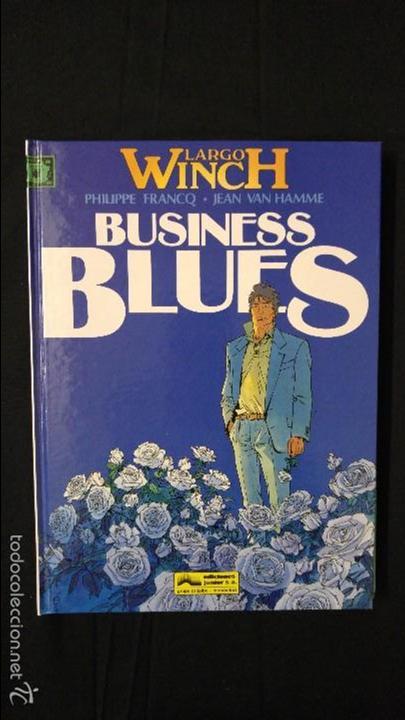 BUSINESS BLUES NUMERO 4 (Tebeos y Comics - Grijalbo - Largo Winch)