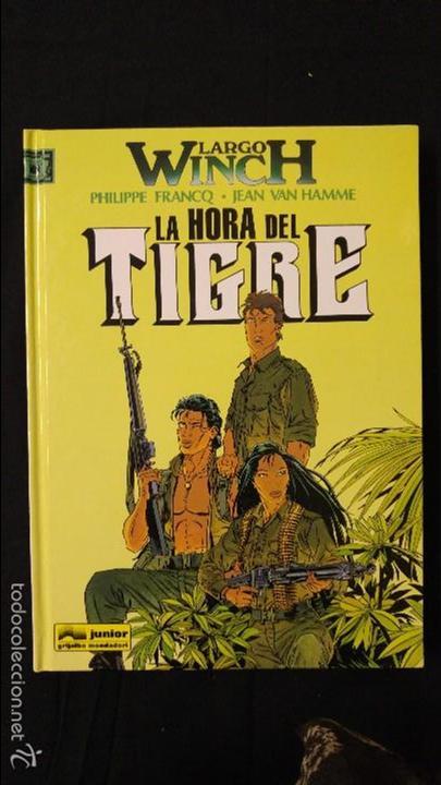 LA HORA DEL TIGRE NUMERO 8 (Tebeos y Comics - Grijalbo - Largo Winch)