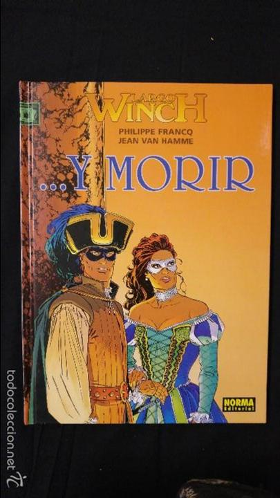 ... Y MORIR NUMERO 10 (Tebeos y Comics - Grijalbo - Largo Winch)