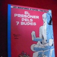 Fumetti: ESPIRU 12 - EL PRESONER DELS 7 BUDES - FRANQUIN & GREG - RUSTICA - EN CATALAN. Lote 55917880