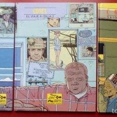 Cómics: EL VIAJE A ITALIA 1 Y 2 Y SAIGON-HANOI DE COSSEY -(LOTE DE 3 NÚMS) - COLECCIÓN TRAZO LIBRE. Lote 56008071