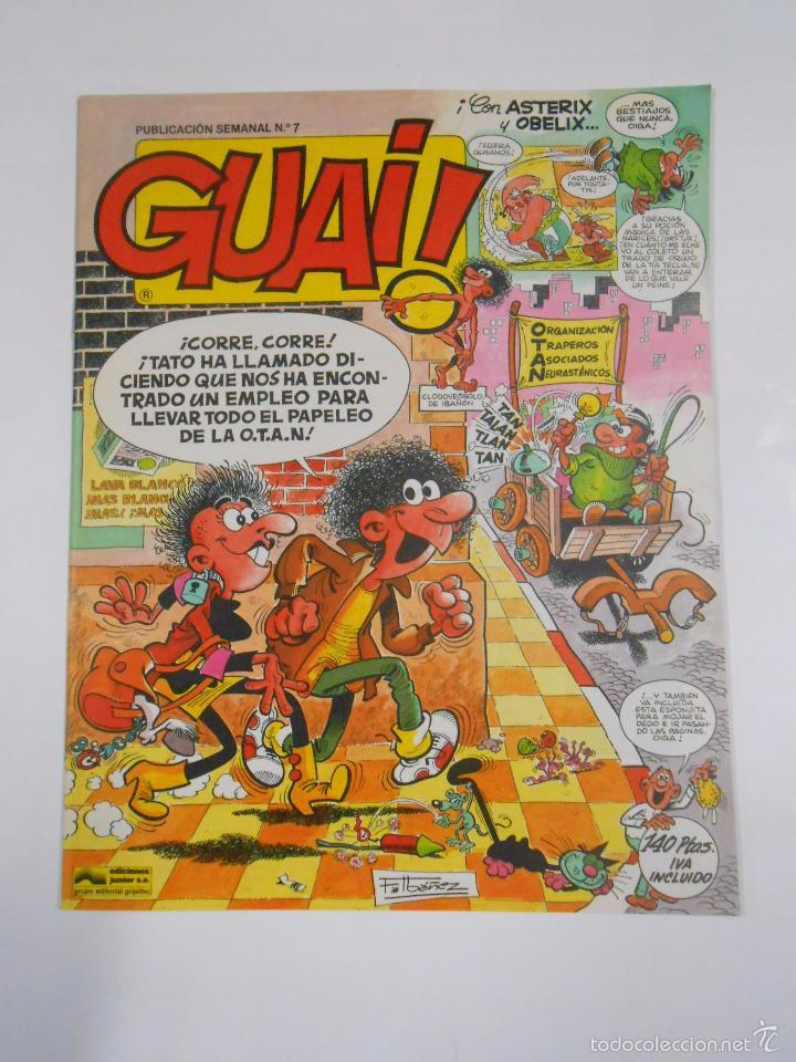 GUAI! Nº 7. PUBLICACION SEMANAL. EDICIONES JUNIOR GRIJALBO. TDKC16 (Tebeos y Comics - Grijalbo - Otros)