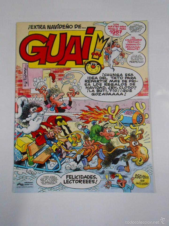 GUAI! EXTRA NAVIDEÑO. FELICIDADES LECTORES. EIDCIONES JUNIOR GRIJALBO. 1986. TDKC16 (Tebeos y Comics - Grijalbo - Otros)