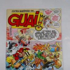 Cómics: GUAI! EXTRA NAVIDEÑO. FELICIDADES LECTORES. EIDCIONES JUNIOR GRIJALBO. 1986. TDKC16. Lote 56196328