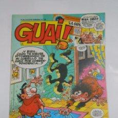 Cómics: GUAI! Nº 28. PUBLICACION SEMANAL. EDICIONES JUNIOR GRIJALBO. TDKC16. Lote 56196425