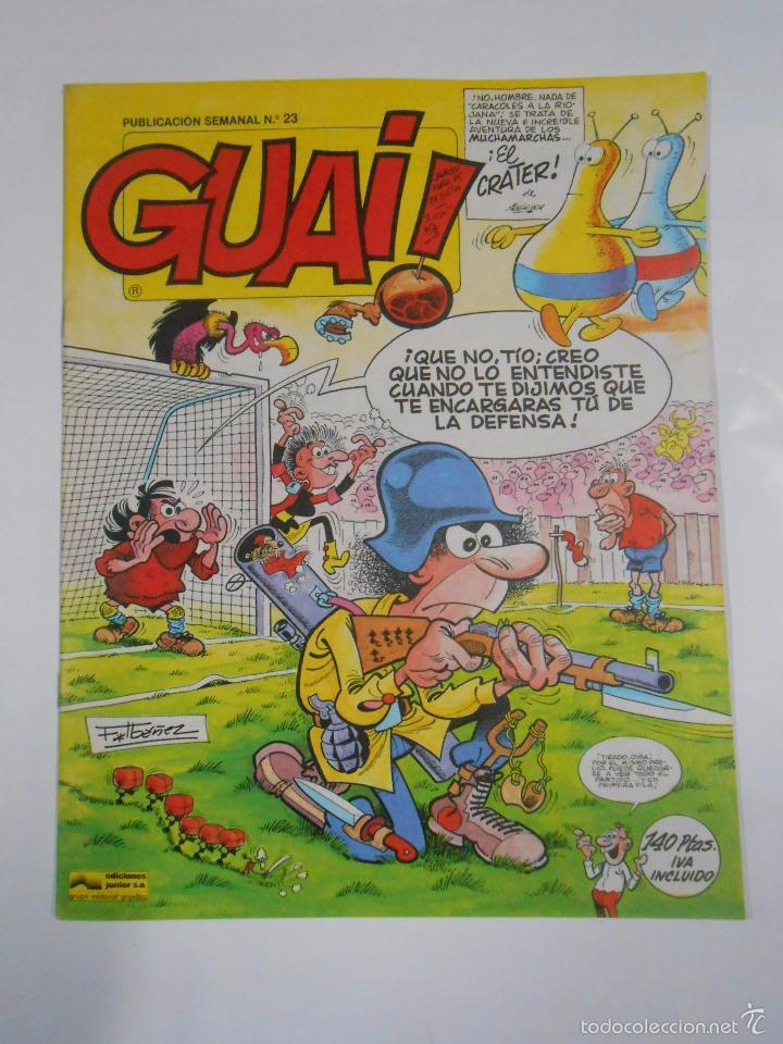 GUAI! Nº 23. PUBLICACION SEMANAL. EDICIONES JUNIOR GRIJALBO. TDKC16 (Tebeos y Comics - Grijalbo - Otros)