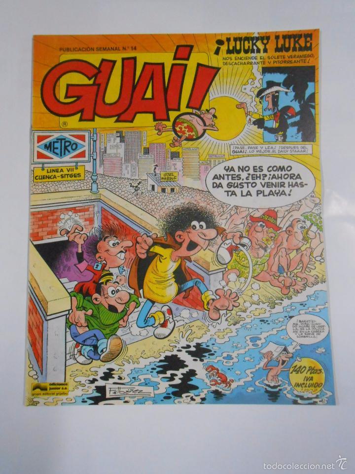 GUAI! Nº 14. PUBLICACION SEMANAL. EDICIONES JUNIOR GRIJALBO. TDKC16 (Tebeos y Comics - Grijalbo - Otros)