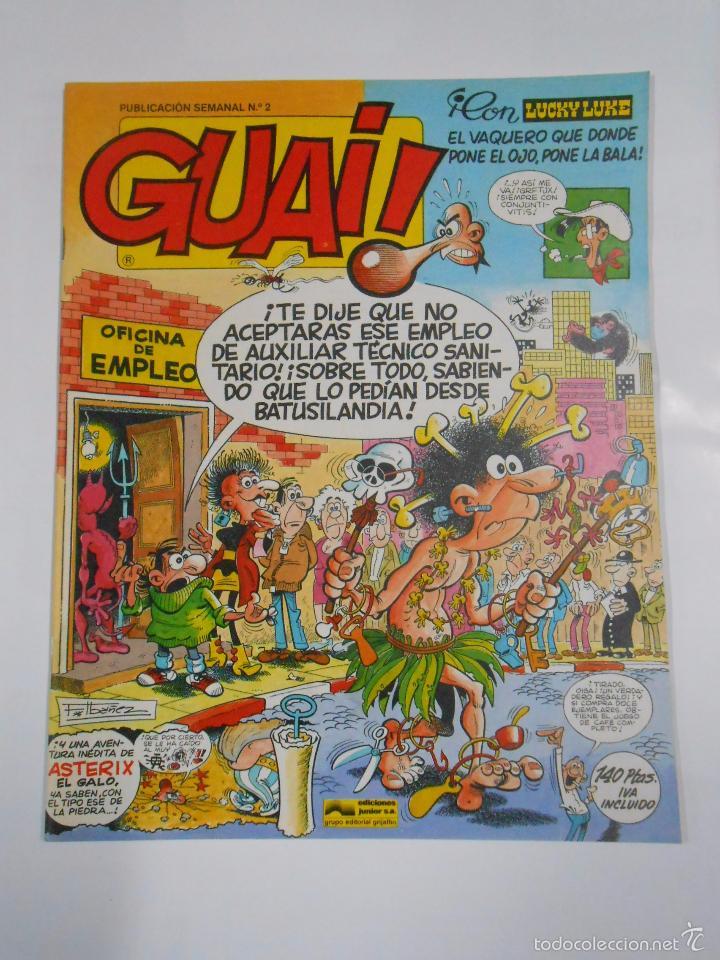 GUAI! Nº 2. PUBLICACION SEMANAL. EDICIONES JUNIOR GRIJALBO. TDKC16 (Tebeos y Comics - Grijalbo - Otros)