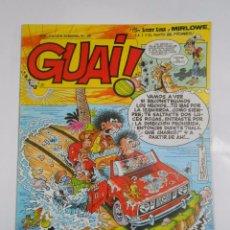 Cómics - GUAI! Nº 20. PUBLICACION SEMANAL. EDICIONES JUNIOR GRIJALBO. TDKC16 - 56196754