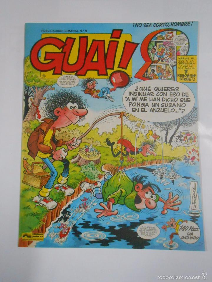 GUAI! Nº 9. PUBLICACION SEMANAL. EDICIONES JUNIOR GRIJALBO. TDKC16 (Tebeos y Comics - Grijalbo - Otros)