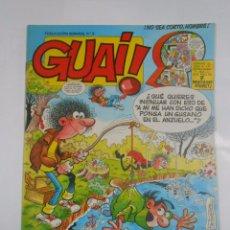 Cómics: GUAI! Nº 9. PUBLICACION SEMANAL. EDICIONES JUNIOR GRIJALBO. TDKC16. Lote 56197035