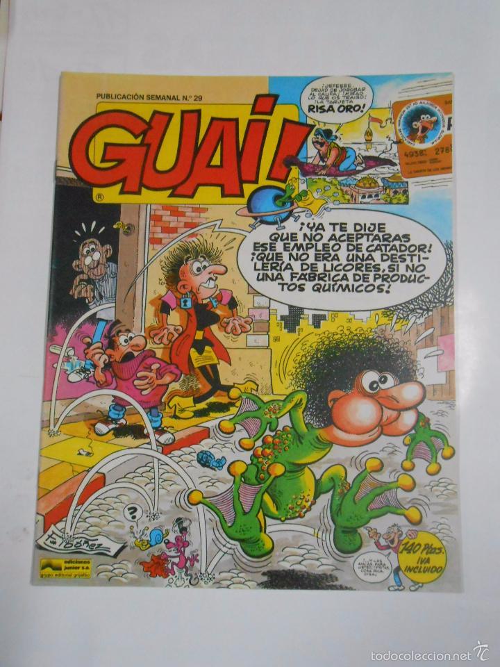GUAI! Nº 29. PUBLICACION SEMANAL. EDICIONES JUNIOR GRIJALBO. TDKC16 (Tebeos y Comics - Grijalbo - Otros)