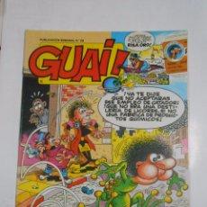 Cómics: GUAI! Nº 29. PUBLICACION SEMANAL. EDICIONES JUNIOR GRIJALBO. TDKC16. Lote 56197108