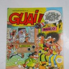 Cómics: GUAI! Nº 153. PUBLICACION SEMANAL. EDICIONES JUNIOR GRIJALBO. TDKC16. Lote 56197276