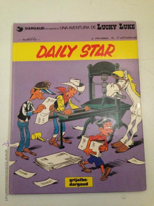 LUCKY LUKE Nº 30. DAILY STAR. GRIJALBO 1986. MORRIS. (Tebeos y Comics - Grijalbo - Lucky Luke)