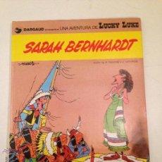 Cómics: LUCKY LUKE Nº 23. SARAH BERNHARDT. GRIJALBO 1983. MORRIS. . Lote 56204878