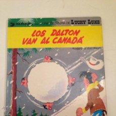 Cómics: LUCKY LUKE Nº 22. LOS DALTON VAN AL CANADA. GRIJALBO 1982. MORRIS. . Lote 56204889