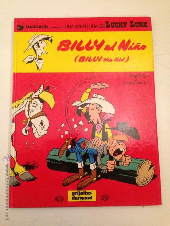 LUCKY LUKE Nº 14. BILLY EL NIÑO. GRIJALBO 1980. MORRIS. (Tebeos y Comics - Grijalbo - Lucky Luke)