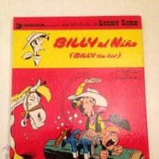 Comics: LUCKY LUKE Nº 14. BILLY EL NIÑO. GRIJALBO 1980. MORRIS.. Lote 56205040