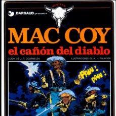 Cómics: MAC COY Nº 9 - EL CAÑÓN DEL DIABLO - ANTONIO HERNANDEZ PALACIOS. Lote 56214959