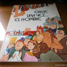 Cómics: ERASE UNA VEZ ... EL HOMBRE - ALBERT BARILLÉ - EDICIONES JUNIOR S.A., GRUPO EDITORIAL GRIJALBO, 1979. Lote 56236857