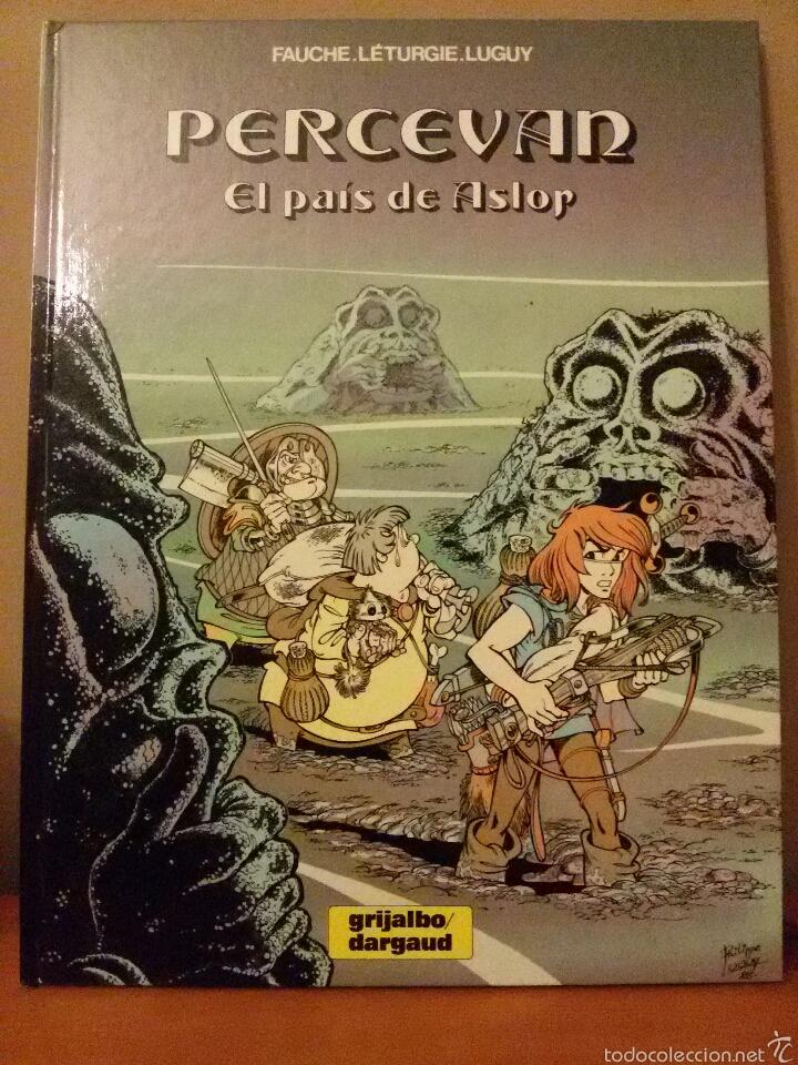 COMIC PERCEVAN / N.4 / EL PAIS DE ASLOP / NUEVO!!!! (Tebeos y Comics - Grijalbo - Percevan)