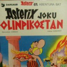 Cómics: ASTERIX EN EUSKERA JOKU OLINPIKOETAN. Lote 56462326