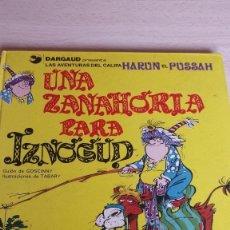 Cómics: UNA ZANAHORIA PARA IZNOGUD, AÑO 77. Lote 56535503