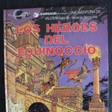 Cómics: VALERIAN Nº 7 - LOS HEROES DEL EQUINOCCIO - 1ª EDICIÓN 1982 GRIJALBO DARGAUD. Lote 56537669