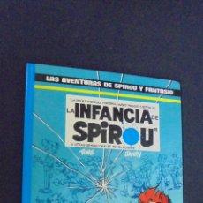 Cómics: LAS AVENTURAS DE SPIROU Y FANTASIO - Nº 24 - LA INFANCIA DE SPIROU - GRIJALBO - . Lote 56571798