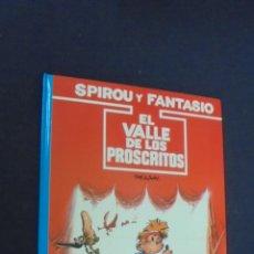 Cómics: LAS AVENTURAS DE SPIROU Y FANTASIO - Nº 27 - EL VALLE DE LOS PROSCRITOS - GRIJALBO - . Lote 56629494