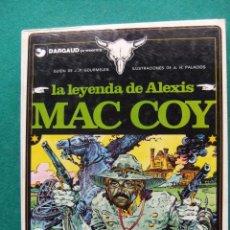 Cómics: MAC COY Nº 1 LA LEYENDA DE ALEXIS MAC COY EDICIONES JUNIOR. Lote 56696114