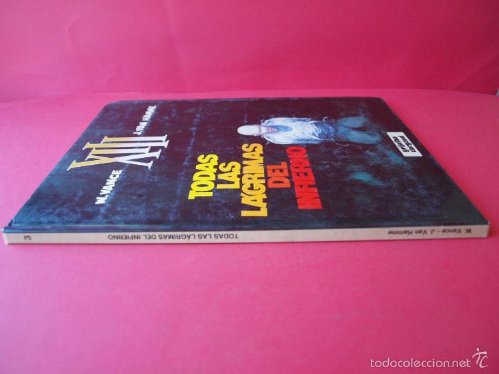 Cómics: XIII Nº 3 - Todas las lágrimas del infierno - W. Vance y J - Van Hamme - Ed. Grijalbo / Dargaud - Foto 2 - 56724224