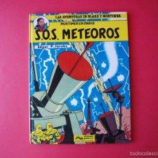Comics : LAS AVENTURAS DE BLAKE Y MORTIMER Nº 5 - S.O.S. METEOROS - JUNIOR / GRIJALBO 1985. Lote 56742913