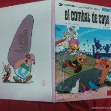 Cómics: ASTERIX. EL COMBAT DE CAPS. UDERZO - GOSCINNY. GRIJALBO / DARGAUD. 1984.. Lote 56819292