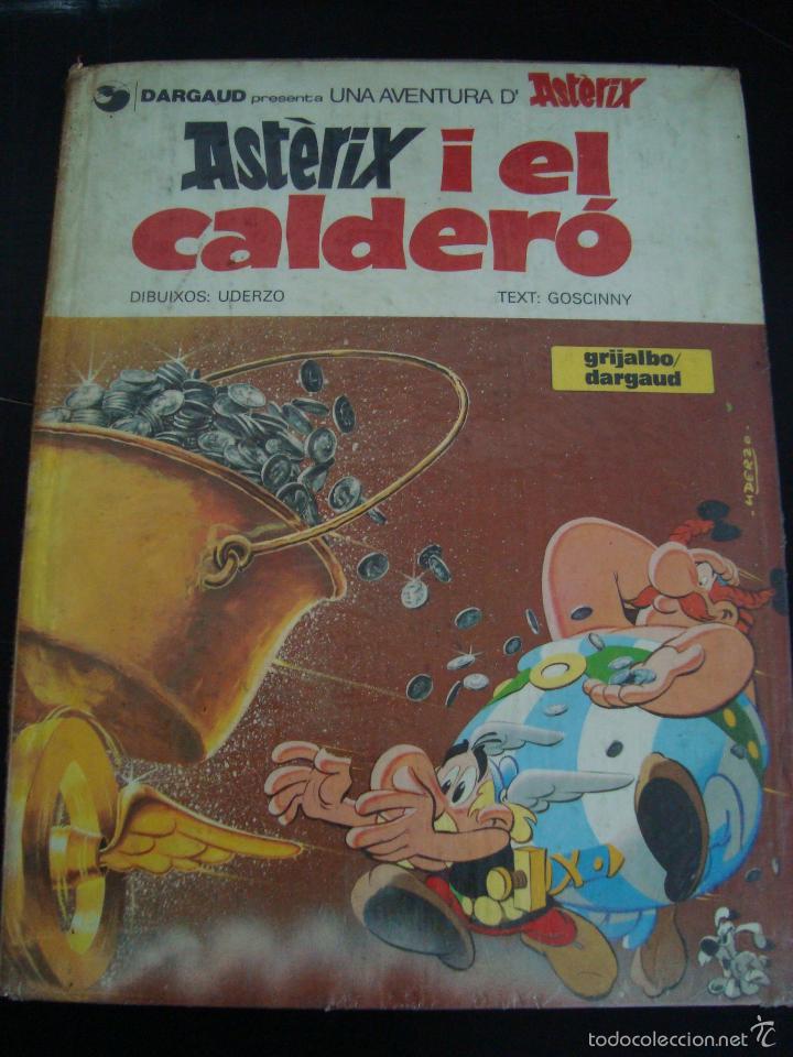 ASTERIX I EL CALDERO. GRIJALBO. EN CATALAN. (Tebeos y Comics - Grijalbo - Asterix)