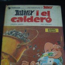 Cómics: ASTERIX I EL CALDERO. GRIJALBO. EN CATALAN.. Lote 56830128