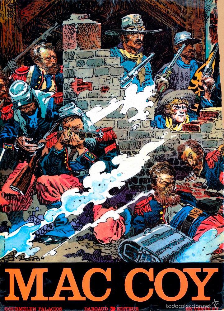MAC COY Nº 11 - CAMERONE CARTEL PROMOCIONAL EN FRANCÉS 1981 (Tebeos y Comics - Grijalbo - Mac Coy)