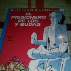 Cómics: SPIROU, EL PRISIONERO DE LOS 7 BUDAS, TAPA BLANDA JUNIOR. Lote 57025439