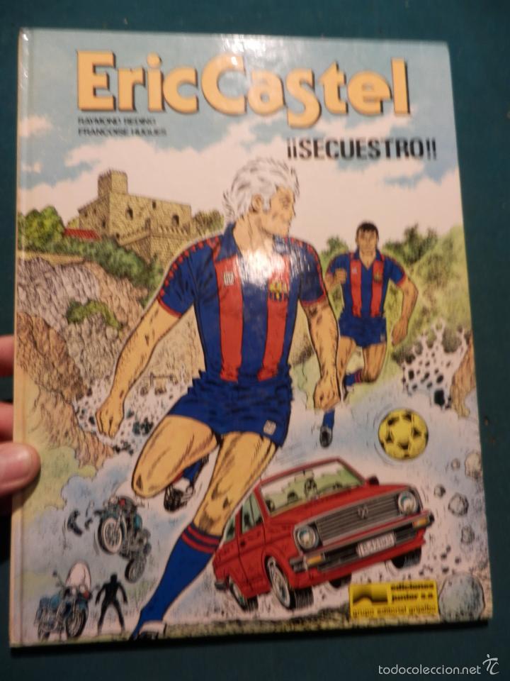 ERIC CASTEL Nº 11 - ¡¡SECUESTRO!! COMIC DE R. REDING & F. HUGUES - EDICIONES JUNIOR-GRIJALBO (Tebeos y Comics - Grijalbo - Eric Castel)