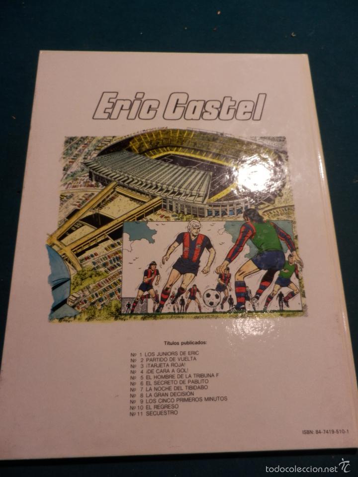 Cómics: ERIC CASTEL Nº 11 - ¡¡SECUESTRO!! COMIC DE R. REDING & F. HUGUES - EDICIONES JUNIOR-GRIJALBO - Foto 4 - 57061334