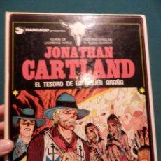 Cómics: JONATHAN CARTLAND Nº 5 - EL TESORO DE LA MUJER ARAÑA - COMIC DE HARLE & BLANC-DUMONT - GRIJALBO 1986. Lote 57081142