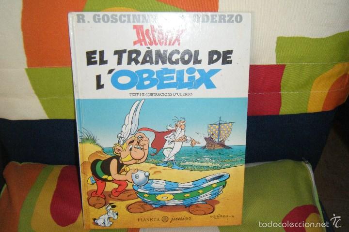 ASTERIX EL TRÀNGOL DE L´OBÈLIX, EN CATALAN, PLANETA JUNIOR TAPA DURA CATALA (Tebeos y Comics - Grijalbo - Asterix)