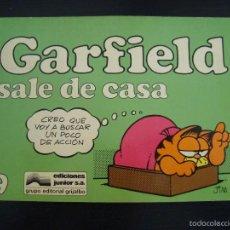 Fumetti: GARFIELD SALE DE CASA 9. JIM DAVIS. 1986 EDIRORIAL GRIJALBO BARCELONA. . Lote 57155347