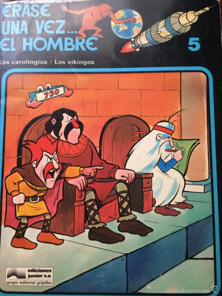ERASE UNA VEZ..EL HOMBRE-EDITORIAL JUNIOR-1979-5 (Tebeos y Comics - Grijalbo - Otros)
