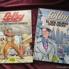 Cómics: COLBY ALTITUD MENOS TREINTA + EL SOL MURIO DOS VECES. GREG Y BLANC-DUMONT. COMPLETA. GRIJALBO TEBENI. Lote 57507942