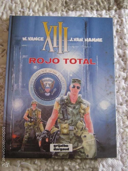 XIII - ROJO TOTAL N. 5 (Tebeos y Comics - Grijalbo - XIII)